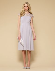For perfect party dresses, elegant eveningwear and stylish occasion pieces, explore our new range. Let our women's and children's collections inspire you. Silver Dress, White Dress, Bridesmaid Dresses, Wedding Dresses, Bridesmaid Ideas, Bridesmaids, Putting Outfits Together, Pleated Bodice, Dresses For Work