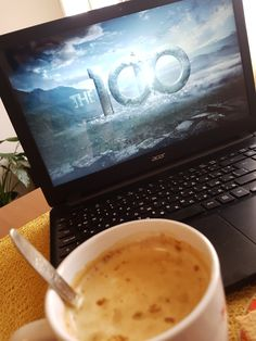 Watching the 100 with coffee ☕ Laptop Photography, Tumblr Photography, Netflix Home, Netflix And Chill, Best Movie Lines, Instagram Story, Instagram Ideas, Snap Food, Neon Nights