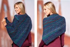 Create this fancy Stylish Cecilia Knitted Shawl for every occasion. If you would like to get this fabulous pattern for FREE, continue NOW...