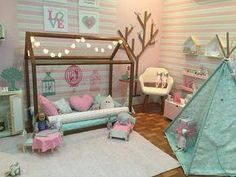 Over 30 elegant and chic decorating ideas for children's bedrooms – for girls and boys – Colorful Baby Rooms Baby Bedroom, Baby Room Decor, Girls Bedroom, Bedroom Decor, Bedroom Ideas, Toddler Rooms, Toddler Bed, Sister Room, Little Girl Rooms