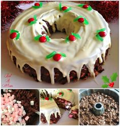 Rocky Road Christmas Wreath   The WHOot