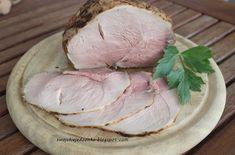 Swojskie jedzonko: Szynka pieczona w niskiej temperaturze-na kanapki