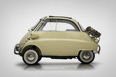 Post WWII Isetta. It only has 3 wheels, and the only door is in the front!