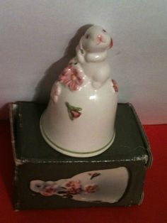 '1984 Bunny Bell by Avon' is going up for auction at  7pm Sat, Aug 25 with a starting bid of $5.