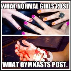 """29 Ways You Know You're an Ex-Gymnast"" <- This is pretty much my life in an article..."