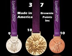 "The US is now at 37 medals, beating China by 3! So exciting and we are so proud to be a ""Made in America"" company."