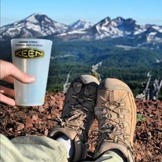 """""""Rockin' my seasoned yet reliable #KEEN Targhee IIs with my trail-friendly #Silipint on top of Tumalo Mountain!"""" – Kevin #bend #oregon"""