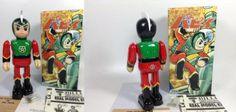 Prince Planet Planet Boy Papi Vintage Tin Toy Billiken Antique Wind-up JAPAN 384 #BillikenShokai