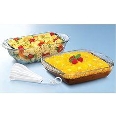 Fit & Fresh Gatherings Go Bakeware Bake & Serve Sets Bakers ...