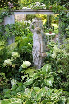 Martha's Garden - Aiken House & Gardens: Touring the Late August Garden