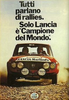 World Champion. – the marquis Old Sports Cars, Sport Cars, Race Cars, Classic Motors, Classic Cars, Vintage Racing, Vintage Cars, Lancia Delta Integrale, Alfa Cars
