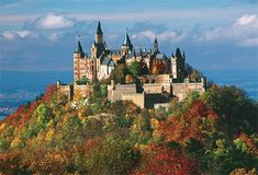 Castle of Hohenzollern - Stutgart, Germany