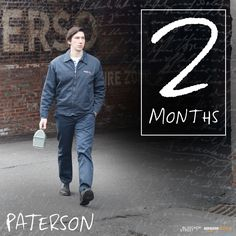 Take a walk on the quiet side with #AdamDriver in #JimJarmusch's zen masterpiece, #PatersonMovie. In select theaters on 12/28.