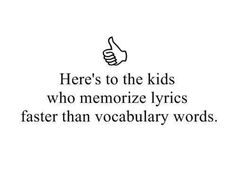 All people, not just kids. and anything not just vocab words.