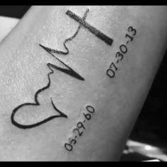 tattoos for daughters * tattoos ; tattoos for women ; tattoos for women small ; tattoos for moms with kids ; tattoos for guys ; tattoos for women meaningful ; tattoos with meaning ; tattoos for daughters Tattoo Mama, Daddy Tattoos, Father Tattoos, Tattoos For Dad Memorial, Dope Tattoos, Mini Tattoos, Grandma Tattoos, Small Remembrance Tattoos, Rip Tattoos For Dad