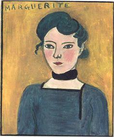 Portrait of Marguerite, Henri Matisse
