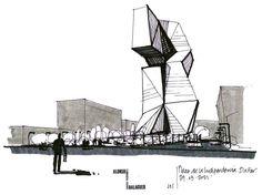 DIBUJOS DE ARQUITECTO - Arch. Joaquín Oleastro Serra Sketches