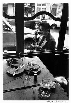 Robert Doisneau // The Japanese actor Ken Ogata , ca. 1950.