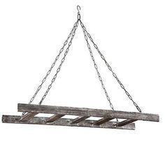4-ft Reclaimed Barnwood Ladder