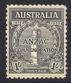 Australia #sg155 1935 1/= #gallipoli #landing mtd mint,  View more on the LINK: http://www.zeppy.io/product/gb/2/391343016208/