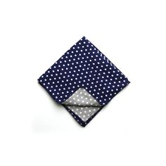 CottonTreats Bradford Reversible Pocket Square -- www.cottontreats.com