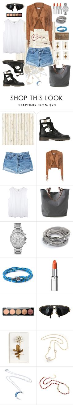 """""""Play"""" by mary-domenech ❤ liked on Polyvore featuring Piet Hein Eek, See by Chloé, Levi's, Glamorous, Independent Reign, Michael Kors, Anchor & Crew, RMK, Versace and Tommy Mitchell"""
