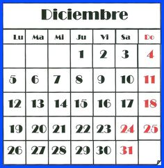 Asueto Nacional 23 y 30 de Diciembre
