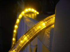 18ft cool white chasing led rope light kit christmas lighting 50ft brilliant amber 3 wire chasing led rope light kit christmas lighting outdoor rope mozeypictures Choice Image
