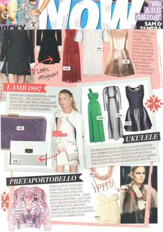 The Audrey Clutch from Lamb 1887 as seen on Laura Whitmore in Now!