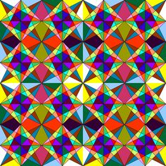 This is the kind of art I created as a child.  I used grid paper, a ruler and a pencil to create the outline and then I colored it all in.  This one was done using software so that I can show my kids.