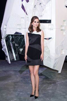 Natalie Portman at the Miss Dior exhibition in Beijing, China. Photo: Dior