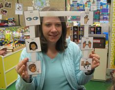 Low cost eye gaze and other AAC materials.  Repinned by www.preschoolspeechie.com