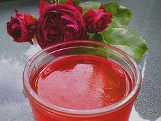 Rosen - Gelee, ein gutes Rezept mit Bild aus der Kategorie Sommer. 22 Bewertungen: Ø 4,3. Tags: Aufstrich, Haltbarmachen, Sommer