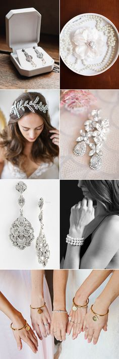 If you are looking for beautiful accessories to go with your dress, today's topic will give you some amazing ideas! Bridal jewelry has its standby classics, as well as new and unique options. Here we've collected our top 7 go-to online stores for gorgeous budget-friendly accessories. From classic elegance, creative personalization, to free-spirit contemporary, we've got every style covered – click through to shop!