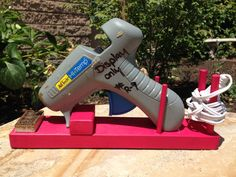 Hot Glue Gun Holder by emswoodbydesign on Etsy, $6.00