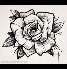 New tattoo rose sketch tatoo ideas Hand Tattoos, Feather Tattoos, New Tattoos, Sleeve Tattoos, Stencils Tatuagem, Tattoo Stencils, Flower Tattoo Designs, Flower Tattoos, Tattoo Sketches