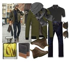"""""""Casual style"""" by explorer-147318007910 ❤ liked on Polyvore featuring Fred Perry, Scotch & Soda, Banana Republic, Outdoor Research, Timberland, Dr. Martens, ORMONDE JAYNE, men's fashion and menswear"""