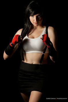 Tracy Collins as Tifa Lockhart from Final Fantasy VII | Comicpalooza 2013 #cosplay
