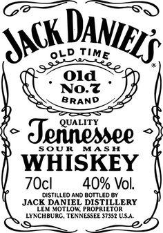 Jack Daniels if you please Vinyl Crafts, Vinyl Projects, Smal Tattoo, Jack Daniels Logo, Cricut Svg Files Free, Images Esthétiques, Silhouette Cameo Projects, Cricut Vinyl, Vinyl Designs