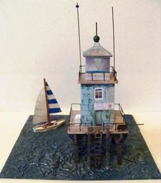 Lighthouse of alexandria ver4 free building paper model download papermau nord bank dublin lighthouse by groupb farol irlands pronofoot35fo Choice Image