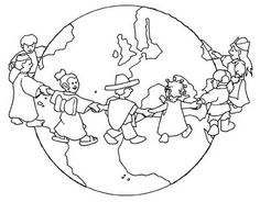 Coloring Ideas Earth Day Poster Coloring Pages - Coloring Ideas K Crafts, World Crafts, Bible Crafts, Space Coloring Pages, Coloring Pages For Kids, Coloring Books, Earth Day Posters, School Murals, Celebration Around The World