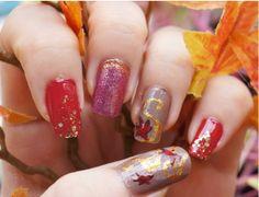 Fall Nail Art Designs Mani Pedi, Manicure, Fall Nail Art Designs, Cute Nails, Fashion Beauty, Diy, Wedding, Nail Bar, Pretty Nails