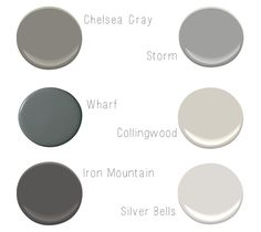 New ideas for house luxury exterior benjamin moore Grey Paint Colors, Interior Paint Colors, Paint Colors For Home, House Colors, Gray Paint, Wall Colors, Chelsea Gray, Exterior Paint, Exterior Design