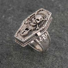 Coffin Ring. Another awesome poison ring
