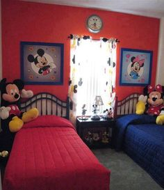 exotic minnie and mickey duvet set – ctfo