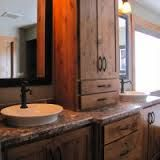built in bathroom cabinets - Google Search