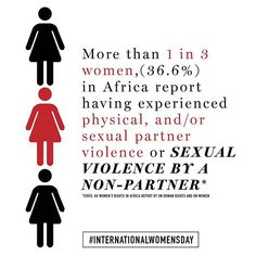 We don't talk about it enough but a third of African women experience violence because of their gender. A new report looks at both the key issues facing women and also at what's changed for the better. Visit MC online for a summary. #internationalwomensday @unhumanrights  via MARIE CLAIRE SOUTH AFRICA MAGAZINE OFFICIAL INSTAGRAM - Celebrity  Fashion  Haute Couture  Advertising  Culture  Beauty  Editorial Photography  Magazine Covers  Supermodels  Runway Models