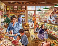 The Cake Shop-White Mountain Puzzles