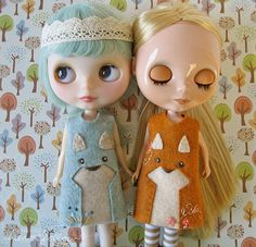 :: Crafty :: Doll :: Clothes :: wolf and fox are friends    by merwing✿little dear