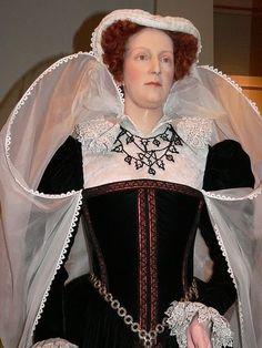 Mary Stuart wax figure in London wax museum